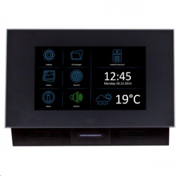 2N® Indoor Touch PoE, WiFi - Black